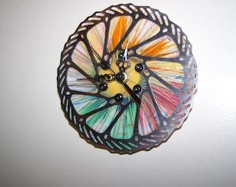Bicycle Disc Brake Clock