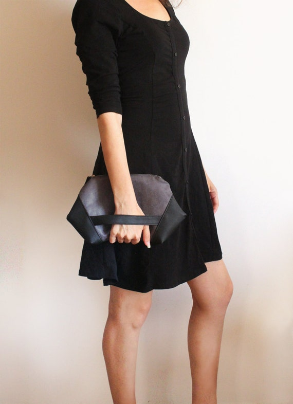 Black Dresses and Evening Bag