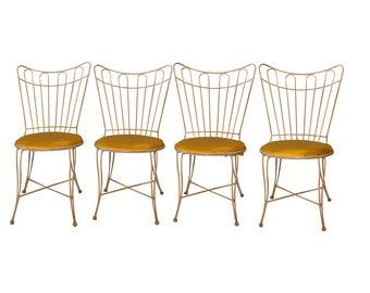 Homecrest Vintage Metal Wire Patio Chairs