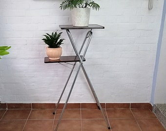 old projection table / projector stand / as a flower stand / industrial