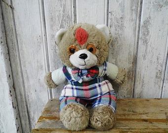 old Teddy Bear / 80s Teddy / Vintage toys