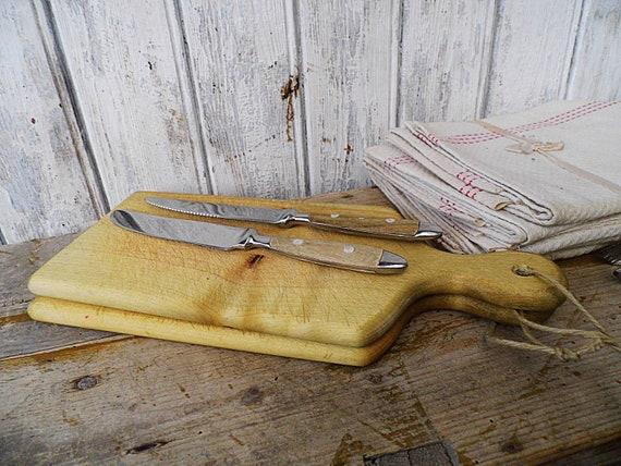 2 cutting boards / wooden boards / wood tray / Breakfast wood board