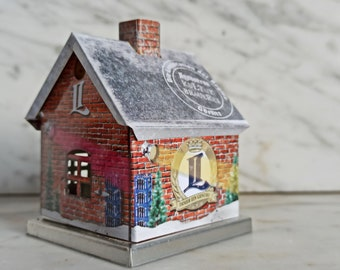 small house for incense / Christmas decoration / promotional gift / Landskron Brauerei / Brewery Görlitz