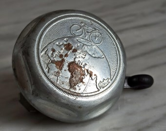 old bicycle bell  / bicycle bell 1970s / bell for vintage bicycles