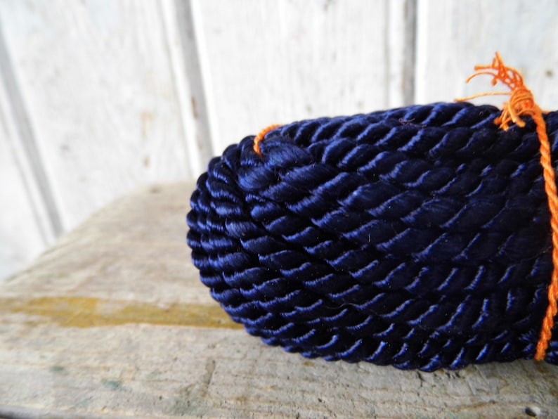 Old material cord  cotton string  rayon  handcraft  for upholstery  25m  25 meters