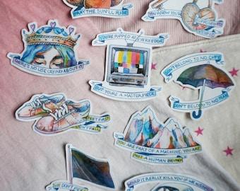 Halsey Badlands Full Sticker Set