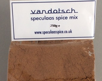 250grams of vandotsch speculaas spice mix - the definitive sweet tasting spice mix