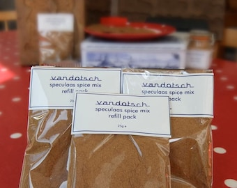 Three 25g vandotsch speculaas spice packs to try out in your bakes and cakes