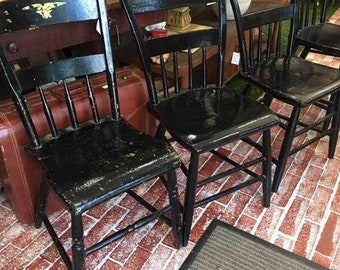 Old Wooden Chairs Etsy