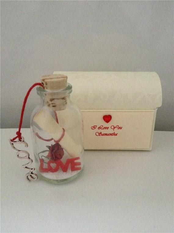 mémoire Keepsake Box mariage amour Personnalisé Demoiselle D/'Honneur or Rose Boîte Cadeau