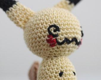 Mimikyu: Not perfect but my first completed amigurumi! : Amigurumi | 270x340