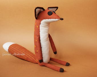 25 cm The  LITTLE PRINCE FOX - premium quality  - original plush little toy - The serie Prince