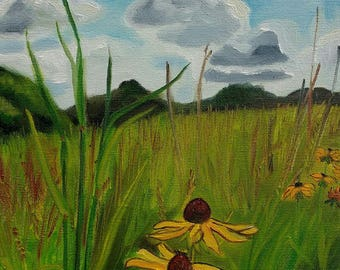 Prairie and Sky Giclee Print