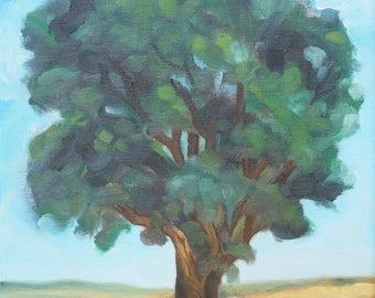 Oak Tree Giclee Print