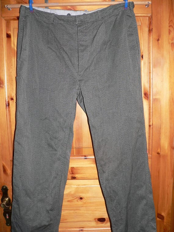 vintage german 1950s prison  pants  Size EU 52 (US