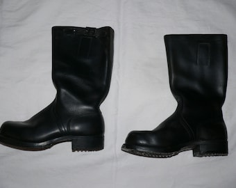 German  jackboots Knobelbecher  Size 40 unworn 1970s