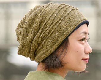 1396be26632 Warm Slouchy Beanie Made with 100% Organic Cotton