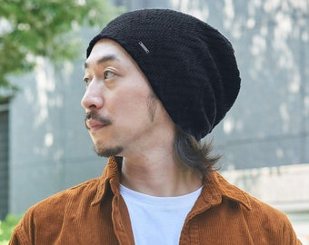New Style Hipster Slouchy Beanie for Men and Women, Silky Soft Texture Fabric Beanie