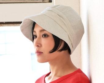 Womens Sun Hat, Summer hat, Vintage Style Hat, Folding Brim Beach Bonnet, Fashion hat for UV Protection, Hiking Casquette, Bucket Style Cap