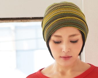 Summer Beanie Hat for Men & Women, Unisex Crochet Knit Beanie, Mens Mesh Beanie, Breathable Colorful Womens Beanie, Korean Fashion K-Pop
