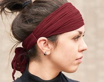 Boho Bandana Womens Yoga Headband Mens Headband, Halloween Pirate Headwrap, Gasparilla Japanese Fashion Headband Yoga Hairband Headscarf