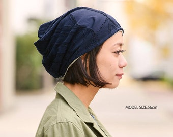 Womens Soft Chemo Hat Japanese Hipster Cap Mens Organic Cotton Slouchy Beanie