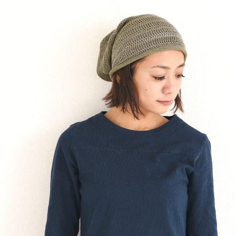 Summer Beanie Slouchy Beanie Hat Made in Japan Sports  e9cf4fe7eeac