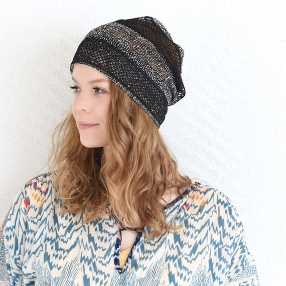 cheapest official images on feet shots of Women's Summer Beanie | Cooling Hat | Crochet Beanie for Ladies | Slouchy  Beanie | Summer Hat | Crochet Hat | Knit Hat | Knit Beanie