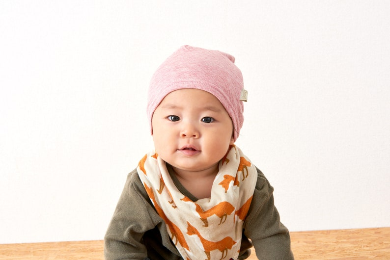 Baby Hat 100% Organic Cotton Baby Shower Gift Made in Japan  e0a316e8c8fb