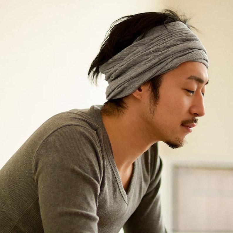 Organic Headband Neck Warmer 100% Cotton Hair Band Accessory  ed862203c009
