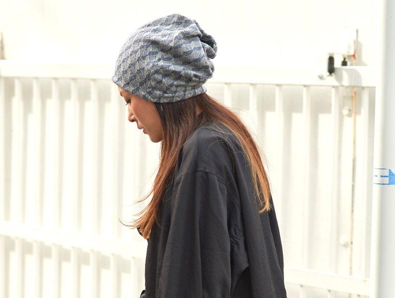 0804a48d193 Organic Cotton Slouchy Winter Beanie Headband Neckwarmer