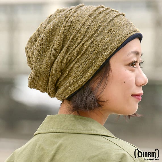 Slouchy Beanie Summer Slouch Hat Korean Fashion Baggy Lightweight Beanie Gift for Her Gift for Him Made in South Korea Mens /& Womens
