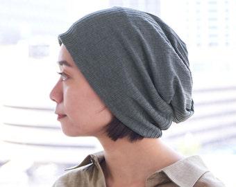 Fashion Beanie for Women, Neck Warmer, Headband 3 in 1 Scarf Accessory,  Warm Neck Gaiter Slouch Cap, Handmade Womens Cap, Hair Tube Hat