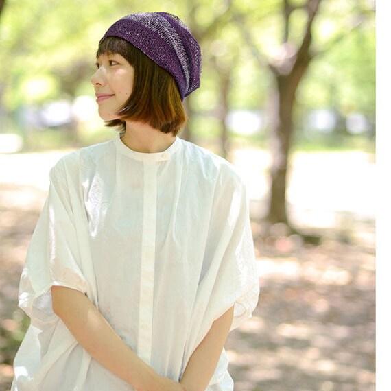 CHARM Casualbox Hemp Summer Beanie Slouchy Cooling Knit Hat Unisex Men Women