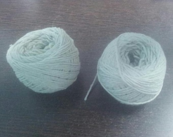 2 Spools Handmade Cotton Thread for Candle Wicking Craft Supply Candle Wick