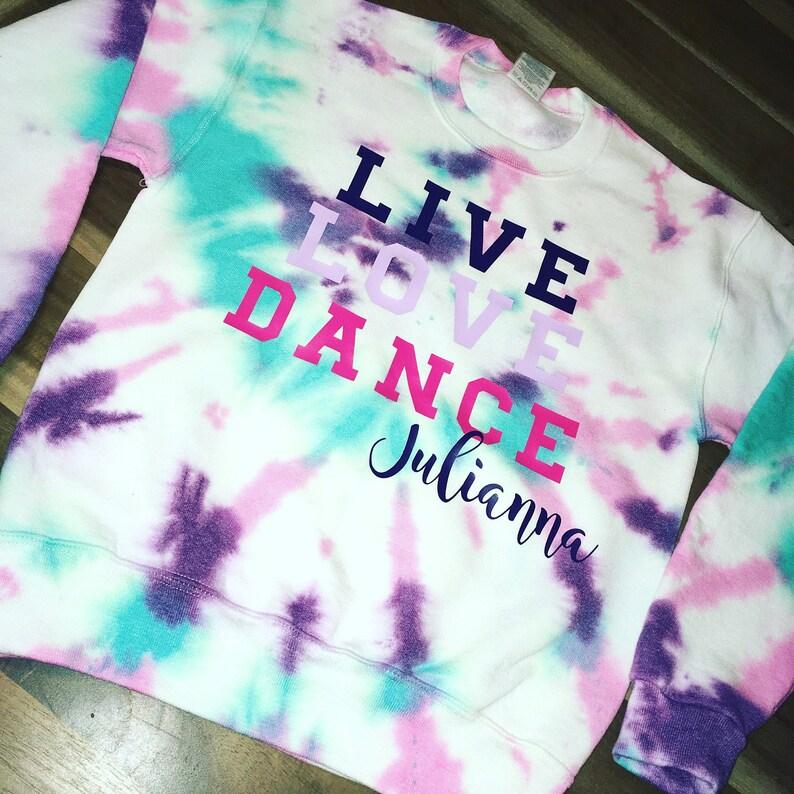 c0b96880f Personalized dance sweatshirt | Etsy