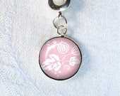 Pyrex Pink Gooseberry Charm European Bracelet Charm Pyrex Collector Gifts Under 10 February Birthday You Choose the Finding