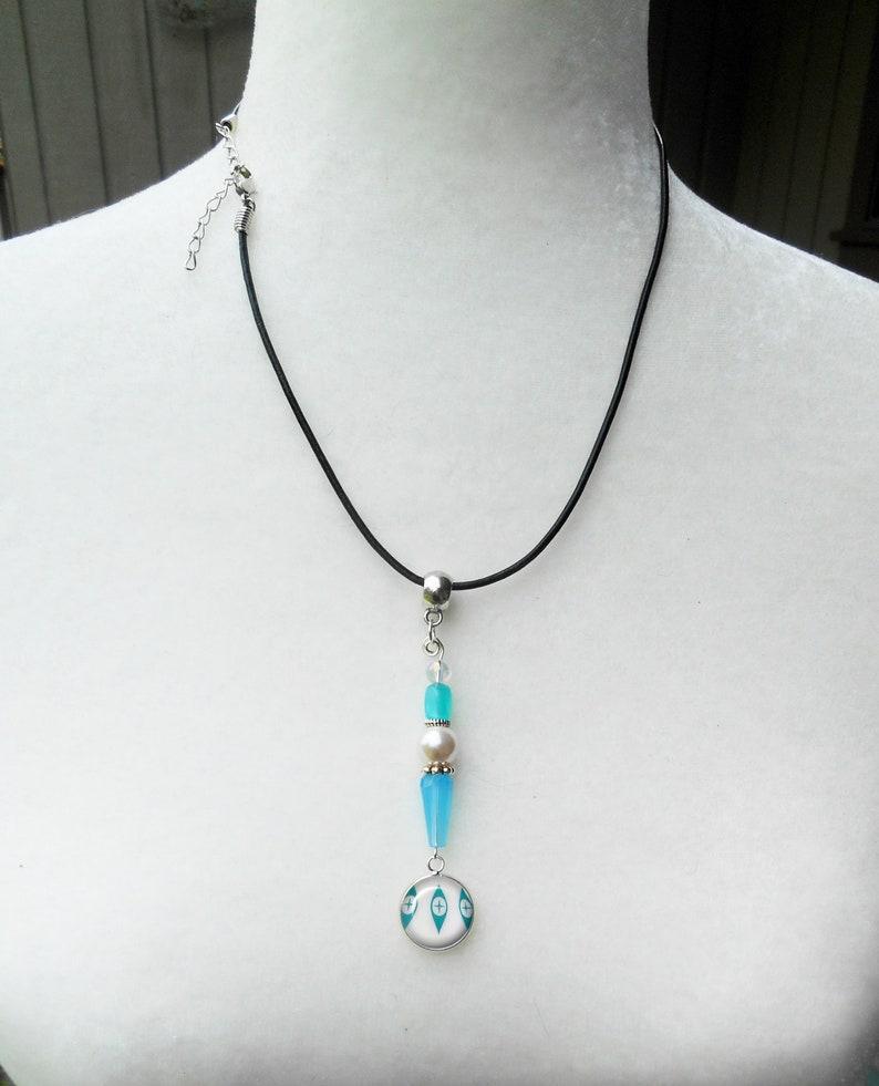 Pyrex Eyes Charm Pendant ~ Purse Charm ~ Pyrex Necklace ~ Vintage Pyrex ~ June birthday gift