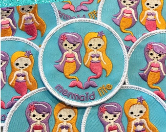 Mermaid Life Patch