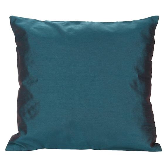 Dark Teal Decorative Pillows