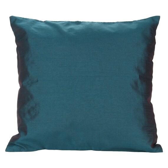 Set Of 40 Solid Dark Teal Pillow Cover Plain Dark Teal Pillow Etsy Simple Dark Teal Decorative Pillows