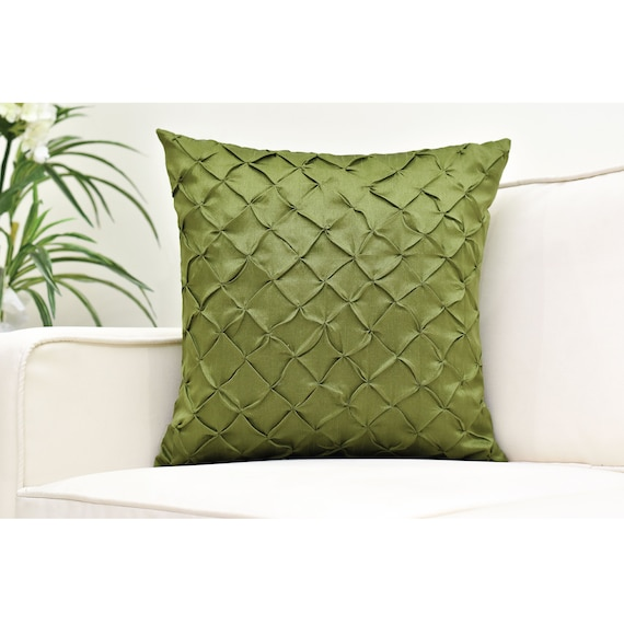 Pinch Pleated Decorative Pillow Cases