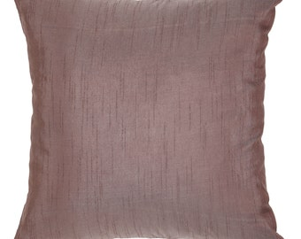 Set of 2 Solid Taupe Pillows Plain Taupe Pillow Solid Taupe Decorative Pillow Taupe Accent Pillow Taupe Pillow Cover  Taupe Shams Bedding