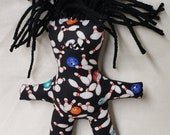 Dammit doll, Bowling pin, bowler, team sport, darn-it doll, therapy doll, stress relief doll, voodoo doll