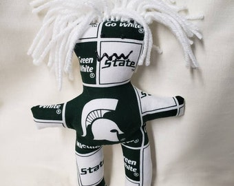 voodoo doll Louis Blues stress relief item St therapy doll Hockey stress relief doll darn-it doll Dammit doll NHL Dang-it doll