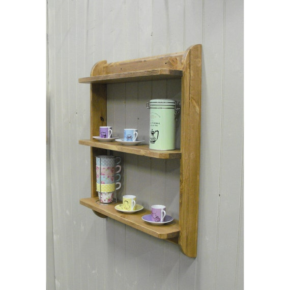 Wall Mounted Shelf Unit Kitchen Shelves Or Cd Dvd And Etsy