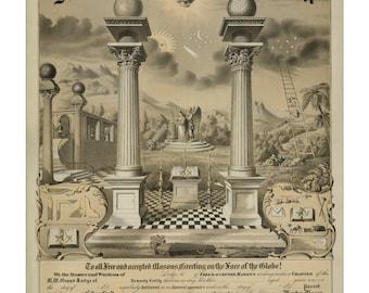 Masonic & Fraternal Art