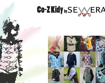 Co-Z Kids Schnittmuster & Anleitung by Sewera