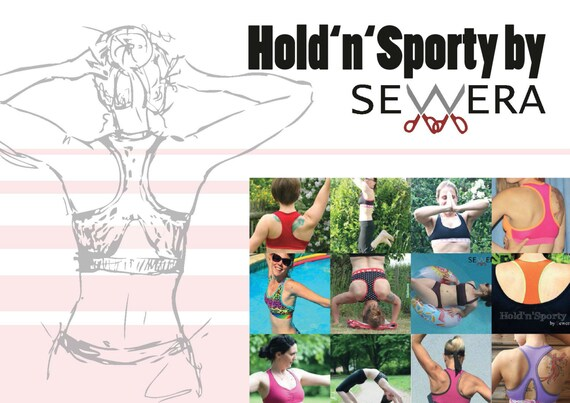 Hold\'n\'Sporty Schnittmuster by Sewera