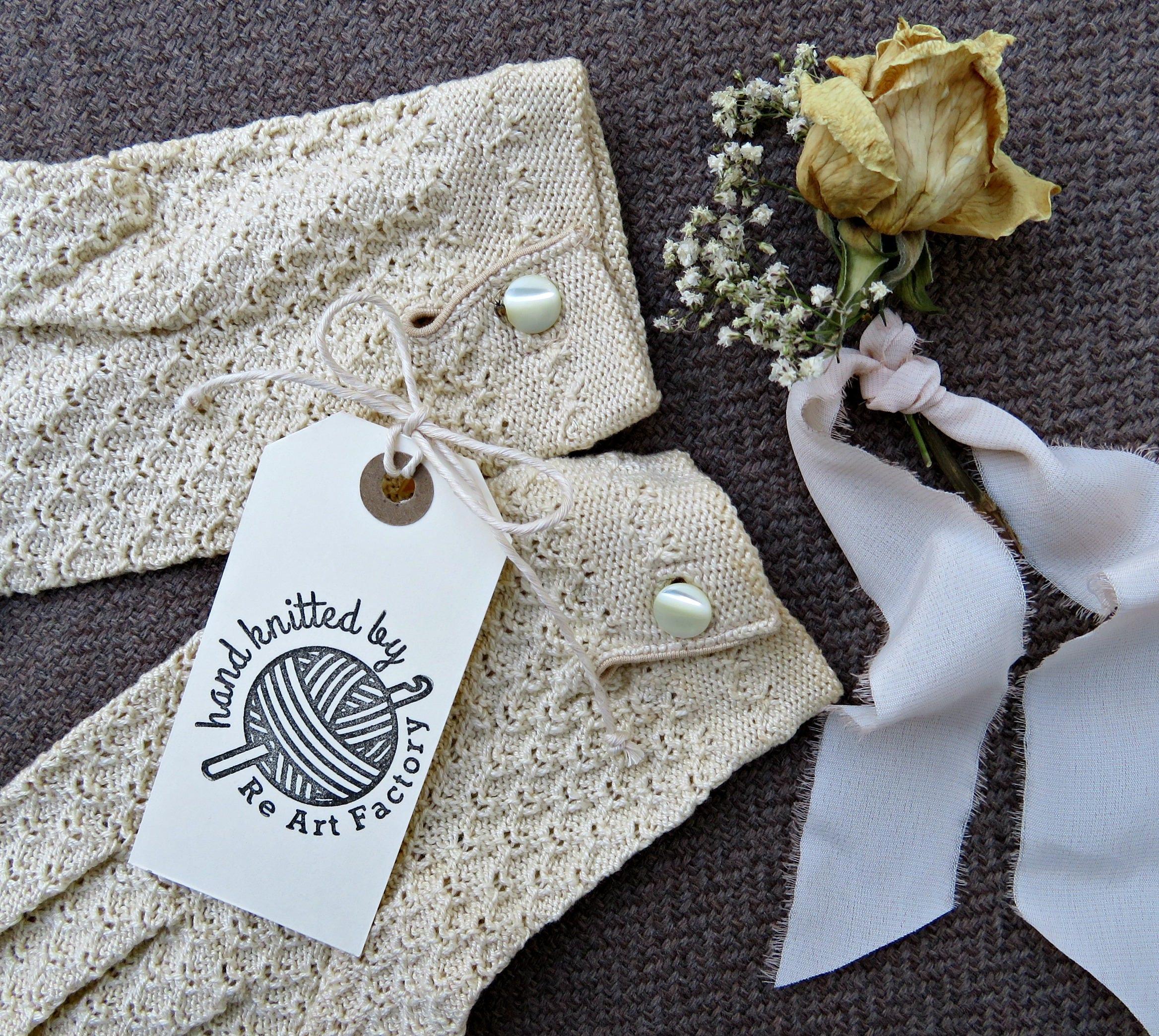 Custom tricotés à la main (votre par (votre main nom) timbre, timbre ... dac3a65faf4